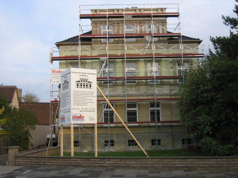 Sanierung Ulmenallee,Bückeburg, vorher