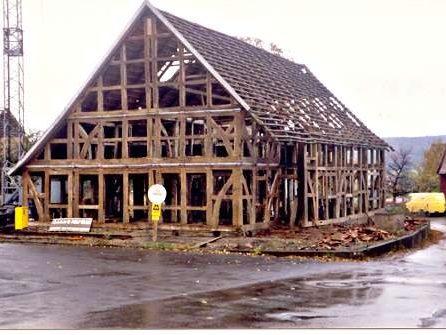 Altes Fachwerkhaus, vorher