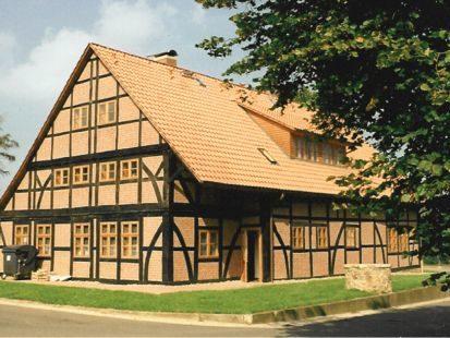 Altes Fachwerkhaus, nachher